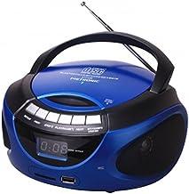 Metronic 477129 - Radio CD / MP3 portátil con Bluetooth,