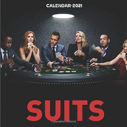Suits: Happy New Year 2021 with this small amazing 8.5''x8.5'' Calendar