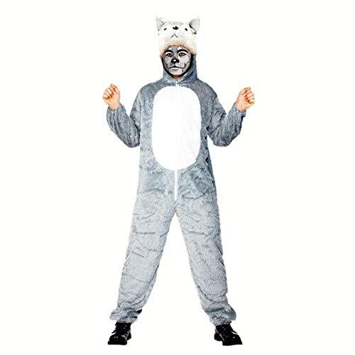 Disfraz Lobo para Adulto (Talla S) (+ Tallas) Carnaval Animales ...
