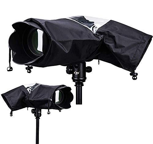 Protector Antilluvia para Cámaras - Cubierta de Lluvia Capa Protector para Cámaras DSLR Funda Impermeable para Proteger cámaras réflex de la Lluvia para Canon Nikon Sony