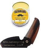 Cera da Baffi (Moustache Wax)15ml + GB77 - Edizione Limitata - ottenere il migliore KIT cera baffi con un pennello di Kent al miglior prezzo