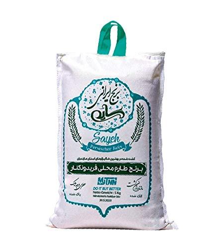 MyTNN Reis 5 Kg Premium Qualität Original grüne Verpackung mit besonderem Aroma für Liebhaber orientalischer Küche( Tarom Mahali)