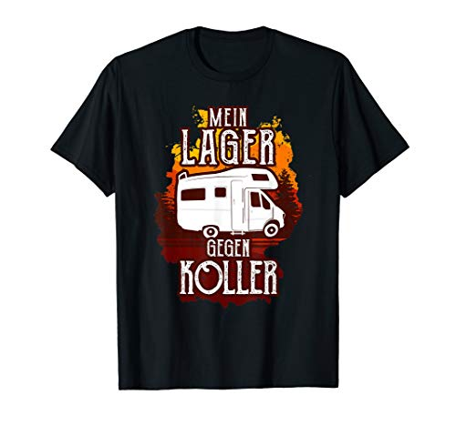 Wohnmobil Lagerkoller Wohnwagen Urlaub Camping T-Shirt
