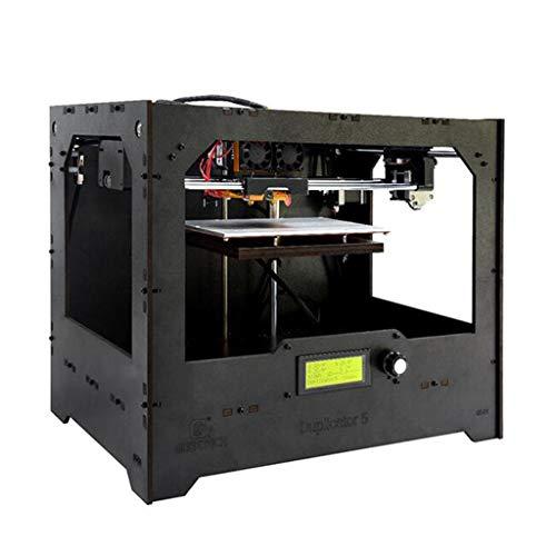 Imprimante 3D, Duplicateur 5 Niveau Bureau Haute Précision Double Extrudeuse Kit De Bricolage, Semi-Ouvert