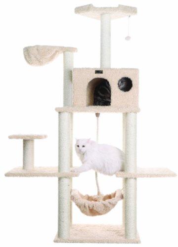 Aeromark International Armarkat Mult A6901 Katzenbaum Hängematte, Klettercenter für Katzen und Kätzchen