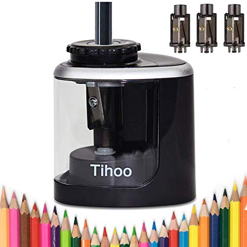Electric pencil sharpener battery powered pencil sharpener for colored pencils,High-Speed