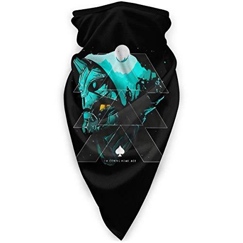 N/W Destiny - Máscara facial resistente al viento, multifunción, para el pelo, pasamontañas, color negro