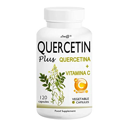 QUERCETIN Plus Line@ + VITAMINA C - ¡Un nuevo aliado para la lucha contra el malestar estacional! ¡200 mg de QUERCETINA + 100 mg de VITAMINA C por cápsula!