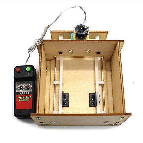 Zerodis Kit de Puerta de Ascensor de Madera para Bricolaje, Modelo de Puerta de Ascensor de Madera Hecho a sí Mismo, Montaje de Juguete Educativo de Desarrollo científico