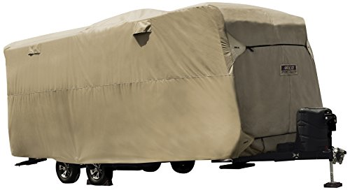 ADCO by Covercraft 74843 Storage Lot Cover for Travel Trailer RV, Fits 24'1'-26', Tan