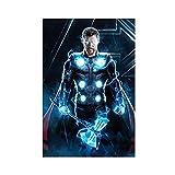 Thor Odinson Chris Hemsworth Movie Universe 36 Leinwand
