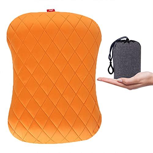 TangYang Travel Pillow-Almohada para Acampar, Almohada Inflable para Acampar, Almohada para mochileros Almohada portátil para Acampar, Almohada Inflable de Viaje para Acampar, Caminar, mochilero
