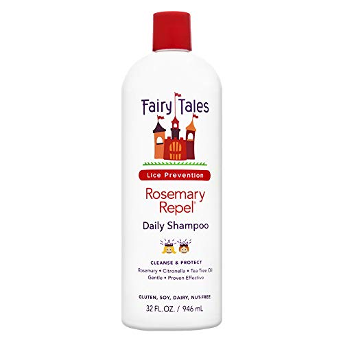 Fairy Tales Rosemary Repel Daily Kid Shampoo for Lice Prevention 32 Fl Oz Pack of 1