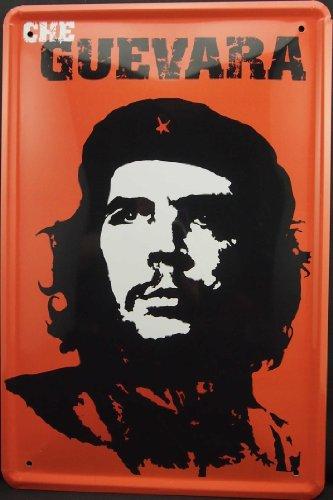 Che Guevara Wandtattoos Poster Blechschild 20x30cm
