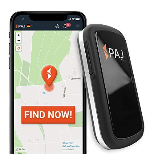PAJ GPS Allround Finder -Localizador GPS para Coche, Moto, Personas Mayores, niños y más -Rastreador GPS en Tiempo Real- GPS antirrobo Coche- Marca Alemana -Autonomía 20 a 60 días(Modo Stand-by)