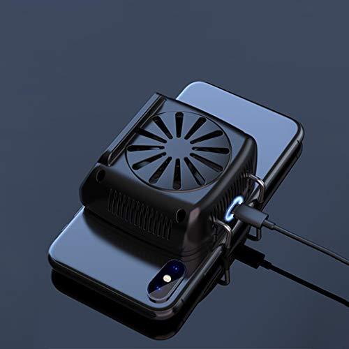 ZCJUX Teléfono multifuncional Radiador del radiador de la caja del ventilador de enfriamiento de la caja del viento del viento del viento del viento para los teléfonos Tenedor del radiador del teléfon