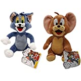 Tom e Jerry- Peluches Tom e Jerry - qualità Super Morbida (Pack Tom e Jerry)