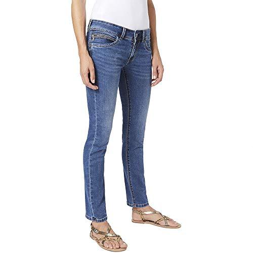 Pepe Jeans New Brooke Jeans, 000denim, 33 Donna