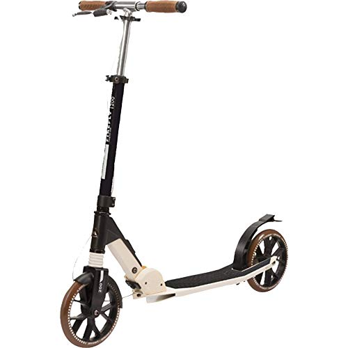 FIREFLY Unisex – Erwachsene A 200 1.0 Scooter, Black/Gold/White, One Size