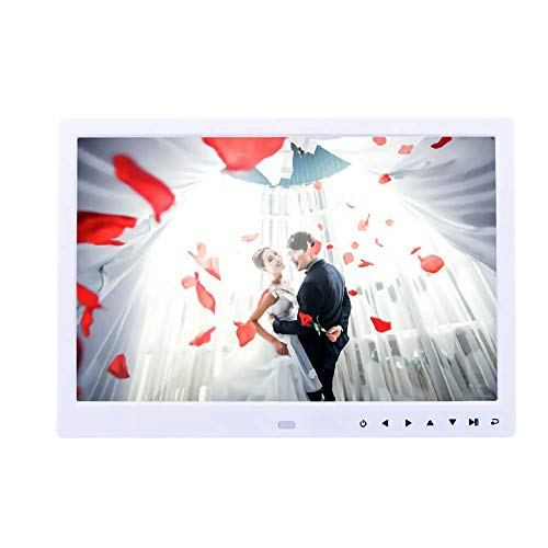 Marco de Fotos Digital con Pantalla LED La Pantalla HD es Compatible con la máquina de Publicidad de Pantalla de Centro Comercial de Pared de Red con Control Remoto