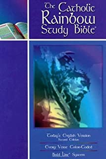 The Catholic Rainbow Study Bible: Today's English Version Indexed