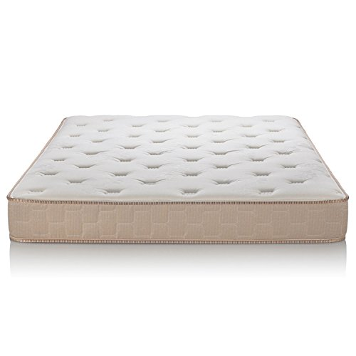 Hot Sale Brentwood Finale 11-Inch Quilted Eurotop Inner Spring Mattress, Made in the USA, Queen Size