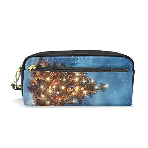 Federmäppchen, große Kapazität, Kunst-Weihnachtsbaum, Stifteetui, mit Reißverschluss