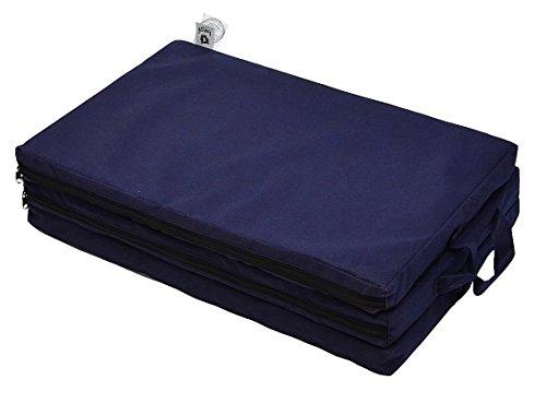 Best For Kids Klappmatratze für das Reisebett 120 x 60 cm in 5 Farben (Marineblau)