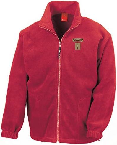 Royal Marines Commando Dagger Embroidered Heavyweight Fleece Jacket