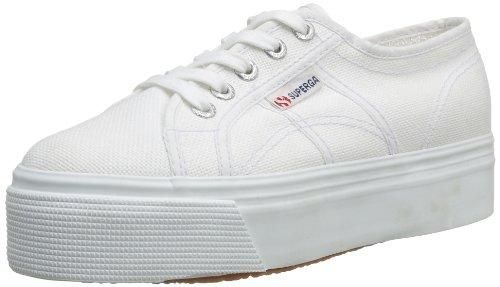 Superga 2790 Acotw Linea Up and Down, Sneaker Donna, Bianco (901 White), 42 EU (8 UK)