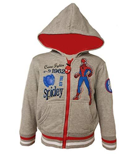 Spiderman - Sudadera - para niño Gris Gris 98 cm
