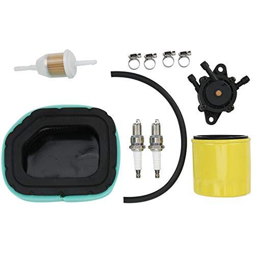 DAUERHAFT Bomba de Combustible Filtro de Aceite Juego de bujías 32-083-03-S para Motor Kohler de 20 Caballos de Fuerza