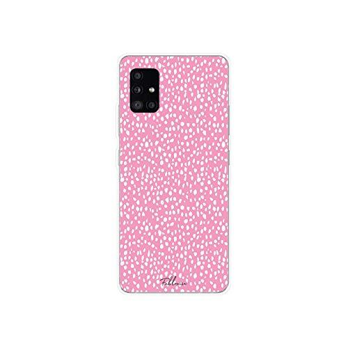 44 Leopard Print Dot Funda de silicona suave TPU para Samsung Galaxy A31 A41 A51 A71 A40 2019 Case-9-For Sansung A51