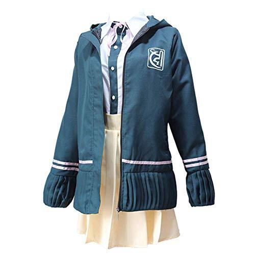 LQS72 Junko Enoshima Cosplay Disfraz Anime Danganronpa Uniforme Traje de Halloween Traje