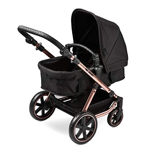 ABC Design Kinderwagen für Puppen, realistisch, für Puppen, Rose Gold.