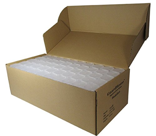 Large Silver Dollar Tubes Translucent Design Holds 20 Coins Per Tube: Fits Peace, Morgan & Eisenhower Dollars, Box of…