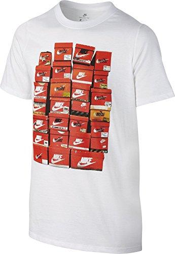 NIKE B NSW tee SS Vintage Shoebox Camiseta de Manga Corta, Niños,...