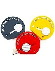 Cuchillo de Olfa Touch varios colores cada [Pack de 12]
