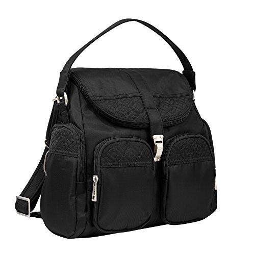 Travelon Anti-Theft Signature Convertible Backpack, Black