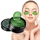 Leshare Eye Mask with Natural Plant Extracts, Under Eye Mask, Collagen Eye Mask, Eye Gel Pads, Firming Eye Mask (60Pcs Green)