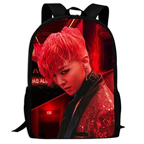 shenguang G-Dragon 3D Print Lightweight Backpacks Casual School Bags Daypacks