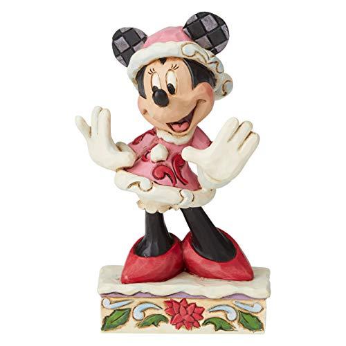Disney Traditions Festive Fashionista Minnie Figurine