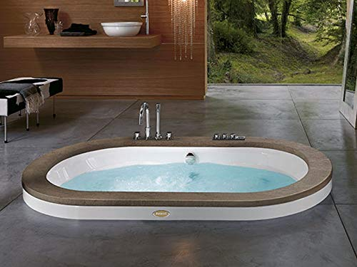 Jacuzzi Opalia Wood bañera de hidromasaje empotrada 9F43498