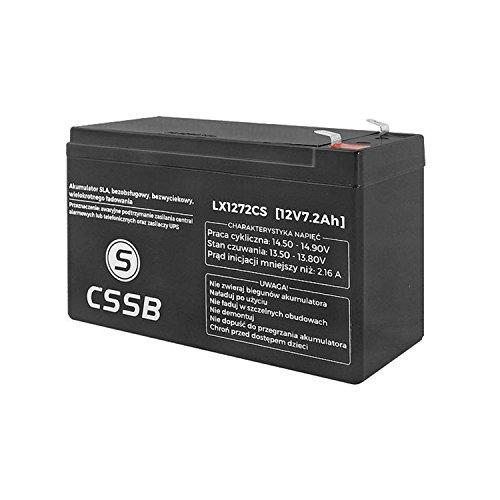 CSSB Gelakku AGM Gelakkumulator (12V 7,2Ah)