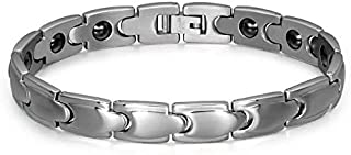 Magnet Healthy Magnet Bracelets & Bangles for Women Men Titanium Stainless Steel Bracelet Fashion Jewelry-xx
