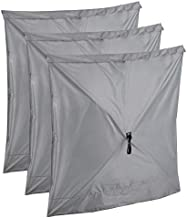 CLAM Quick-Set Wind and Sun Panel Attachment for Traveler, Venture, and Escape Screen Shelter Canopy Tent, Accessory Only, Gray (3 Pack)
