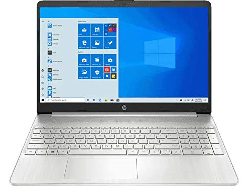 HP 15s eq1042au 15.6-inch Laptop (Ryzen 3 3250U/4GB/512GB SSD/Windows 10 Home/AMD Radeon Graphics), Natural Silver