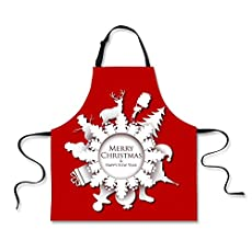 Polero Christmas Apron - Xmas Elements