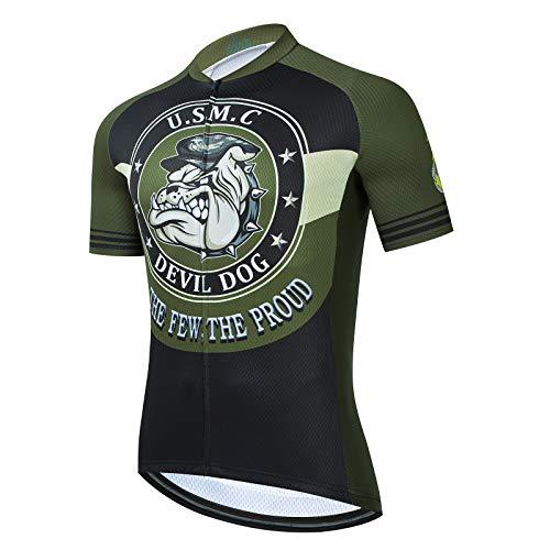 marine corp cycling jersey - 1