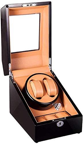 SLM-max Uhrenbeweger, mechanische Uhr Automatische Box Winding 2 + 3 Epitope, High-End Uhr-Storage Box/Mute Anti-Magnetic Sway Tabelle,B